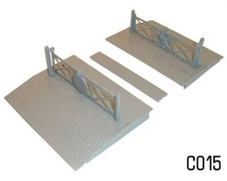 Dapol C015 Level Crossing (OO scale plastic kit)