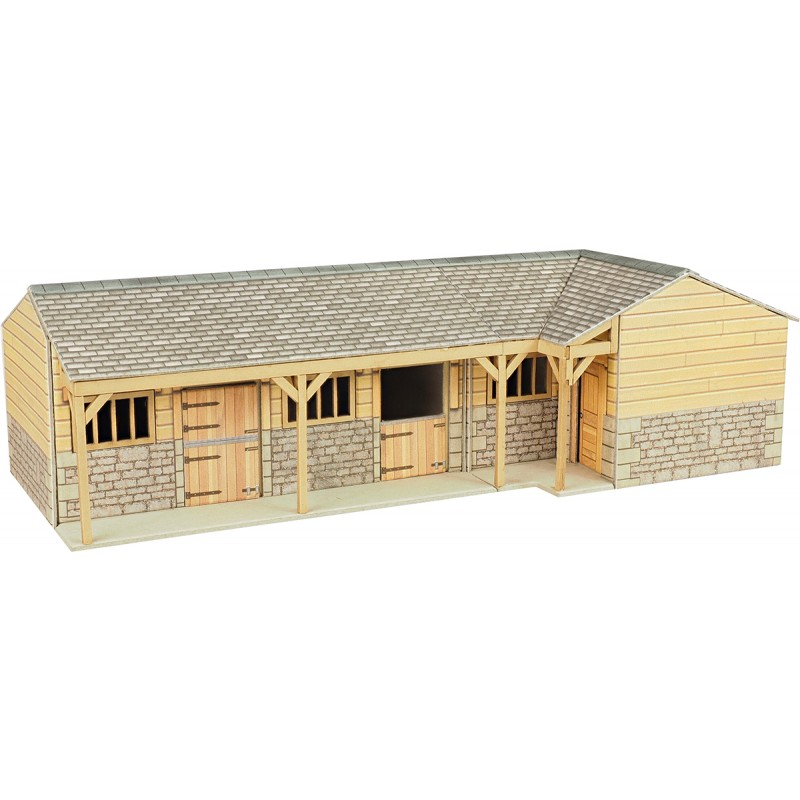Metcalfe PO256 Stable Block (OO scale card kit)