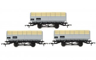 Hornby R6783 BR 20 Ton Coke Hopper Wagons - Three Wagon Pack (OO gauge)